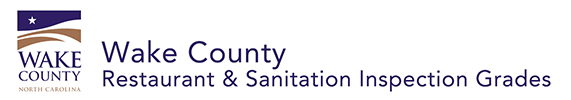 Wake County Restaurant and Sanitation Inspection Grades